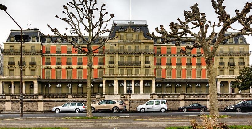 Дворец Вильсона в Женеве