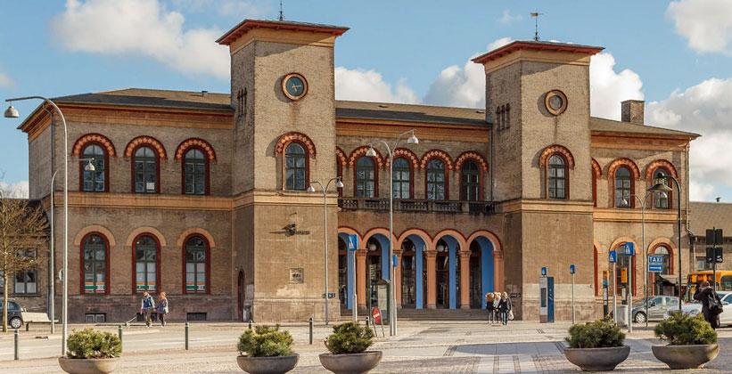 Железнодорожный вокзал Роскилле