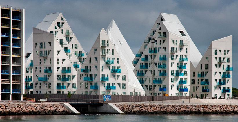 Жилой комплекс Айсберг в Орхусе