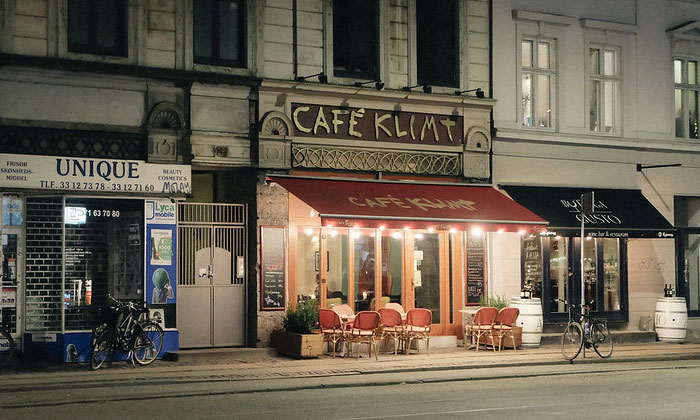 Кафе Klimt в Копенгагене