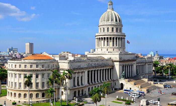 Капитолий Гаваны (парламент Кубы)