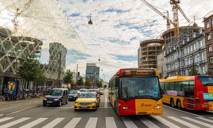 Муниципальные автобусы Копенгагена