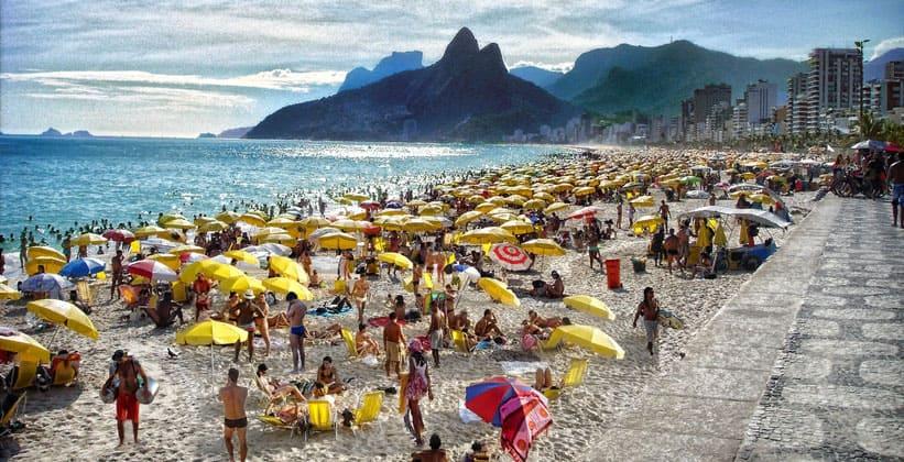 Один из пляжей Рио-де-Жанейро