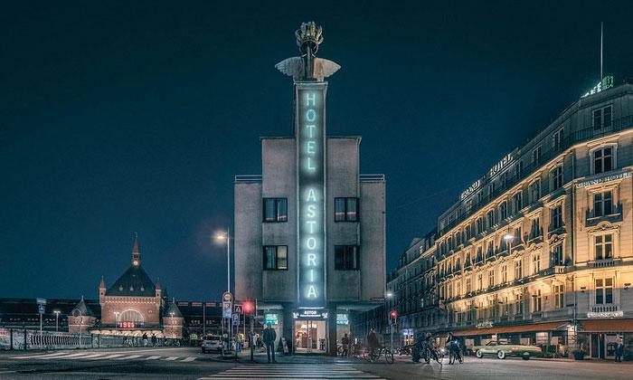Отель Astoria в Копенгагене