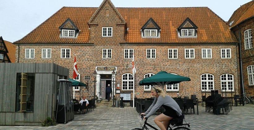 Отель Dagmar в городе Рибе