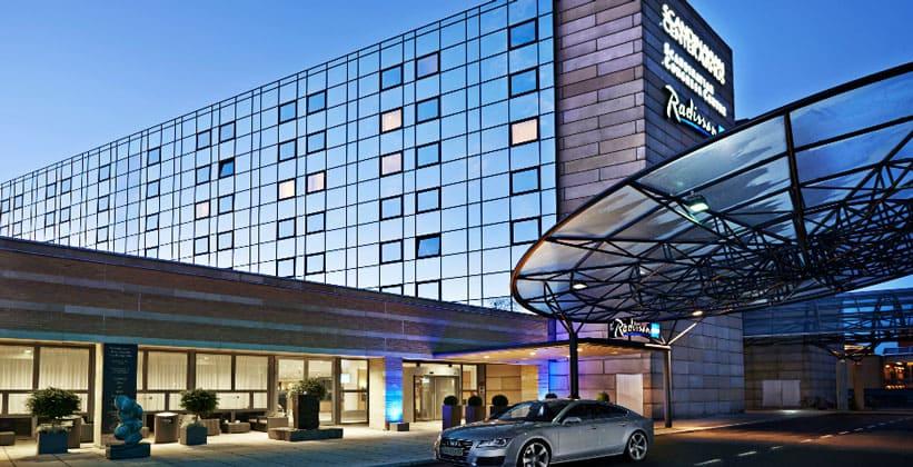 Отель Radisson Blu Scandinavia в Орхусе