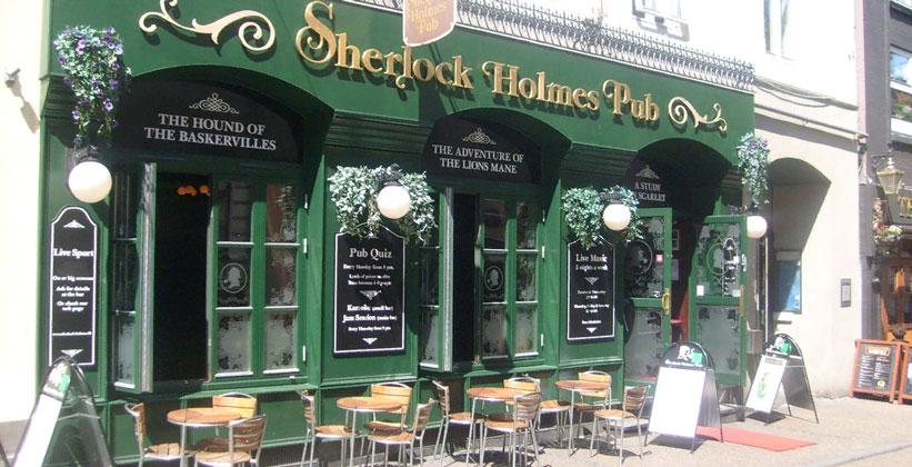 Паб Шерлок Холмс в Орхусе
