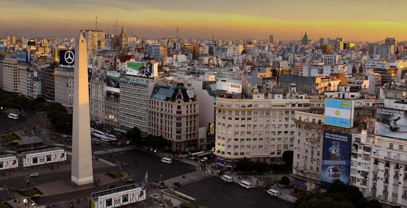 Панорама Буэнос-Айреса