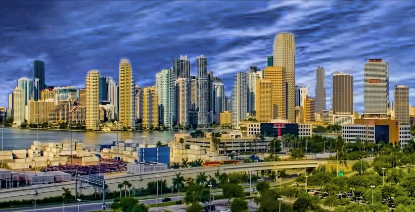 Панорама Майами