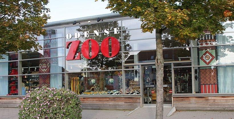 Вход в зоопарк Оденсе
