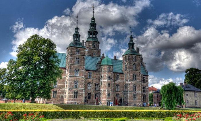 Замок Росенборг в Копенгагене