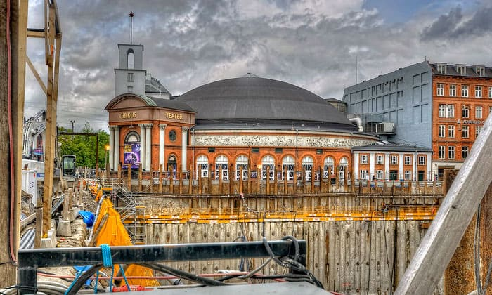Здание цирка Копенгагена