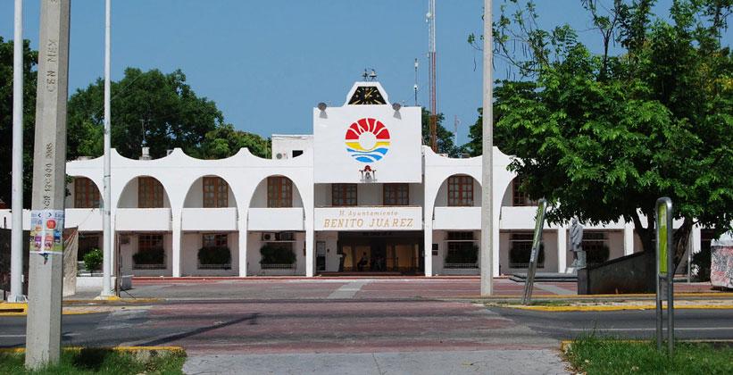 Здание городской администрации Канкуна
