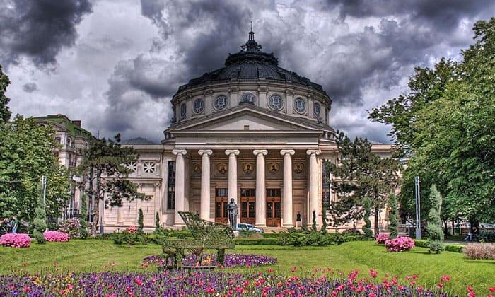 Румынский атенеум (театр) в Бухаресте