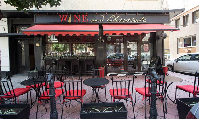 Бар Wine and Chocolate в Софии