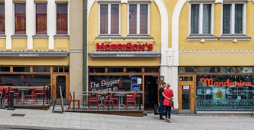 Ресторан MorriSon's в городе Турку