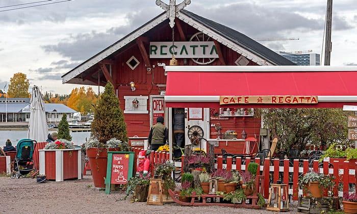 Кафе Regatta в Хельсинки