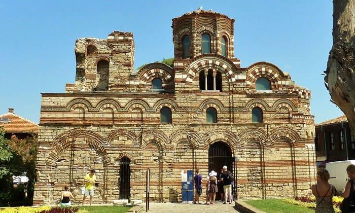 Античная церковь Пантократора в Несебыре
