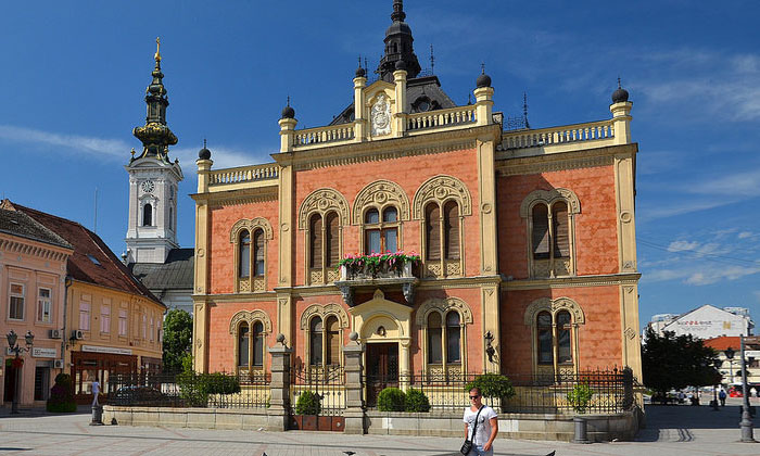 Дворец архиепископа в Нови-Саде