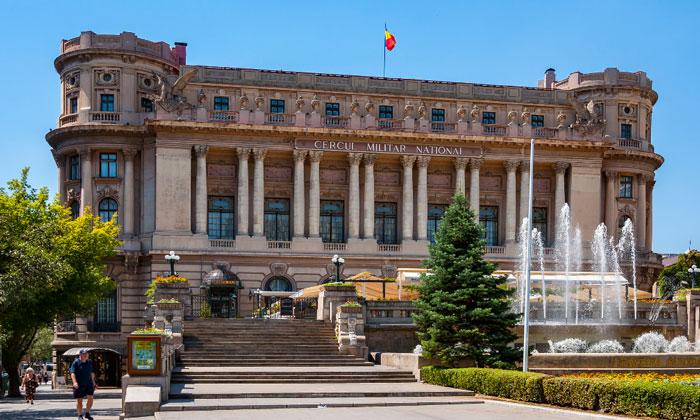 Дворец Национального военного круга в Бухаресте