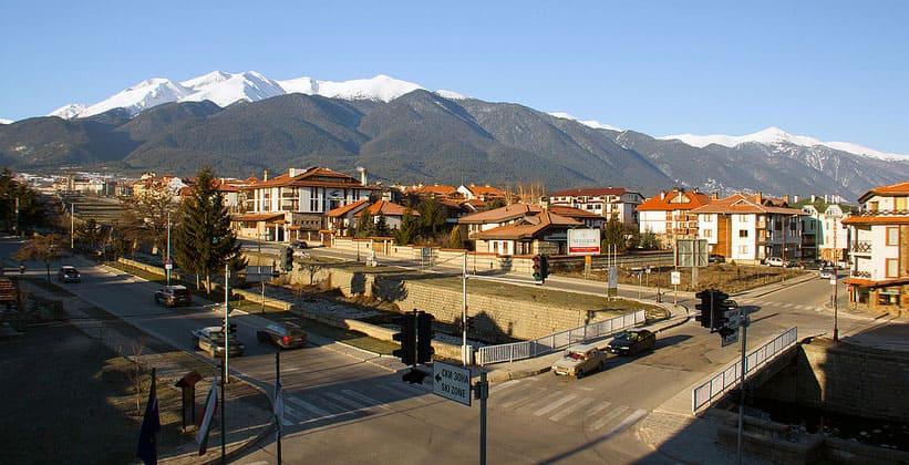 Город Банско в Болгарии