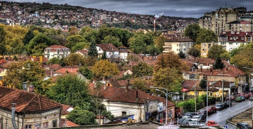 Город Ниш в Сербии
