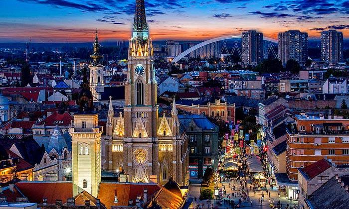 Город Нови-Сад в Сербии