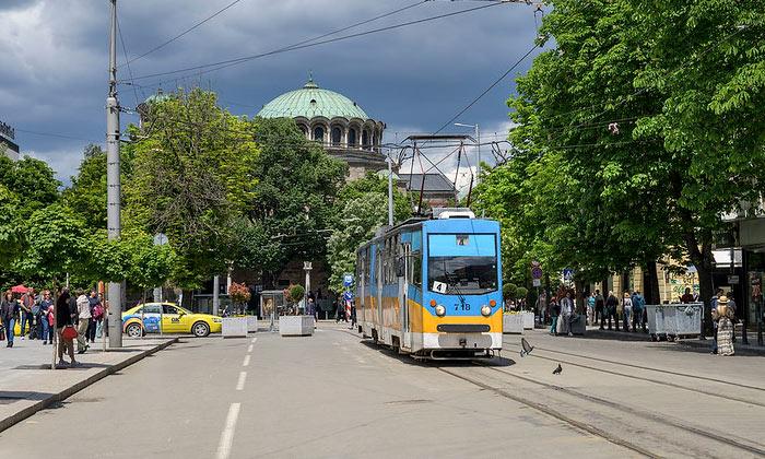 Городской трамвай Софии