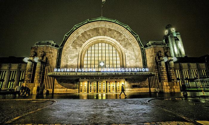 Центральный железнодорожный вокзал Хельсинки