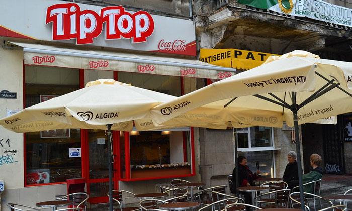 Кафе Tip Top в Бухаресте
