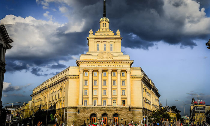Бывший Партийный дом на площади Ларго в Софии