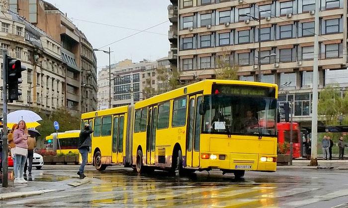 Муниципальный автобус Белграда