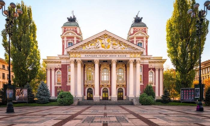 Национальный театр имени Ивана Вазова в Софии