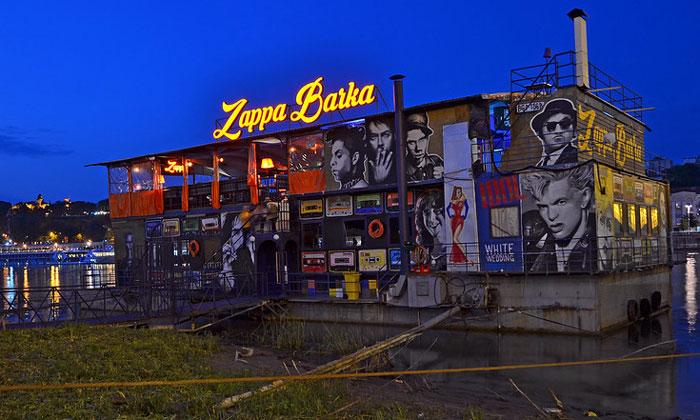 Ночной клуб Zappa Barka в Белграде
