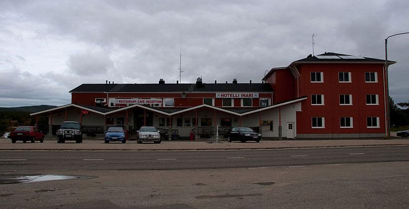 Одноимённый отель Инари в Финляндии
