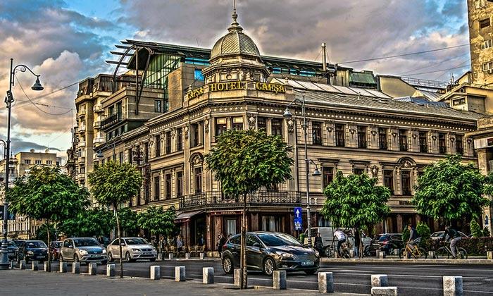 Отель Capsa в Бухаресте