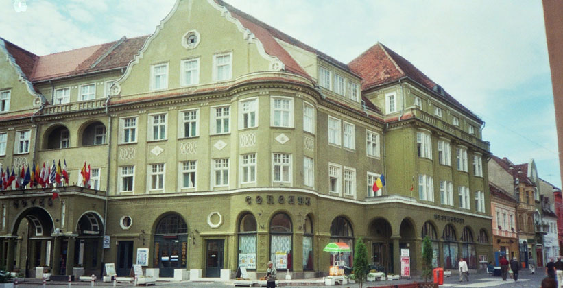 Отель Coroana в Брашове