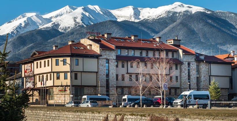 Отель Hermes в городе Банско