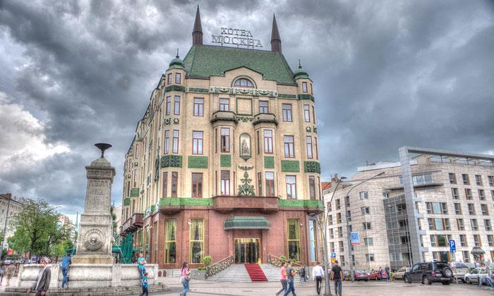 Отель Москва в Белграде