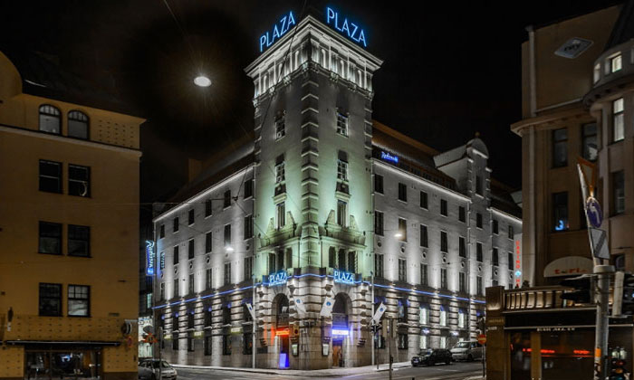 Отель Radisson Blu Plaza в Хельсинки