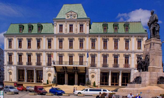 Отель Traian в городе Яссы
