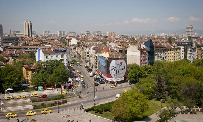 Панорама Софии
