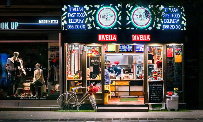 Пиццерия Divella в Белграде