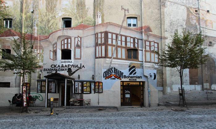 Ресторан Скадарлиjа в Белграде