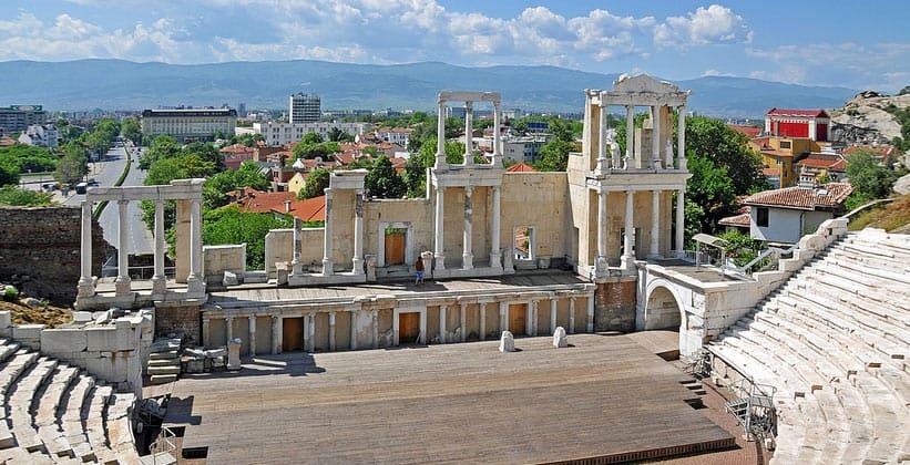 Римский театр Пловдива