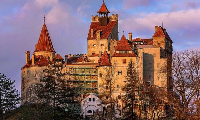 Замок Бран (Дракулы) в Румынии