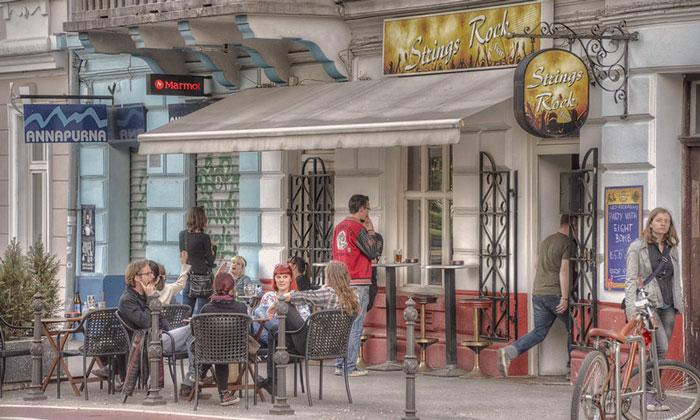 Бар Strings Rock в Любляне