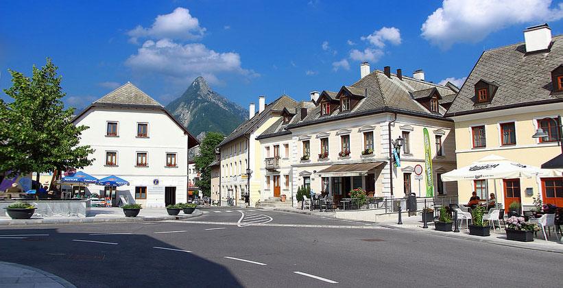 Город Бовец в Словении