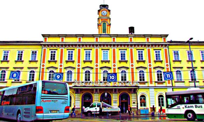 Железнодорожный вокзал Любляны