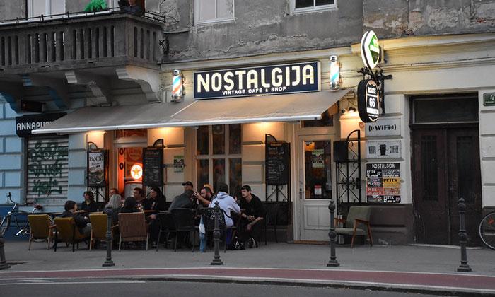 Кафе Nostalgija в Любляне